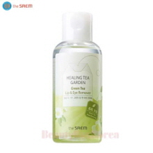 THE SAEM Healing Tea Garden Green Tea Lip & Eye Remover [Moisturizing] 150ml